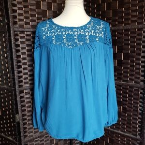 Old Navy Rayon Blouse Size M